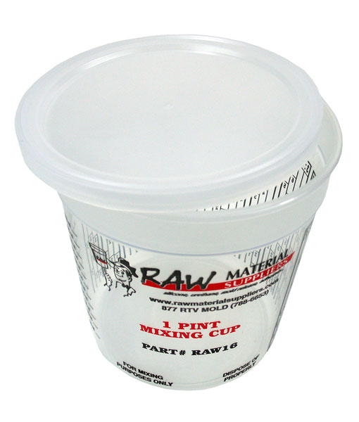1 pint mixing cup lids