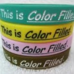 Silicone Ink for printing on silicone parts, wristband, swim caps, cell phone covers, etc...