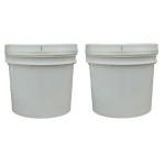 2x 1 gallon Silicone mold rubber