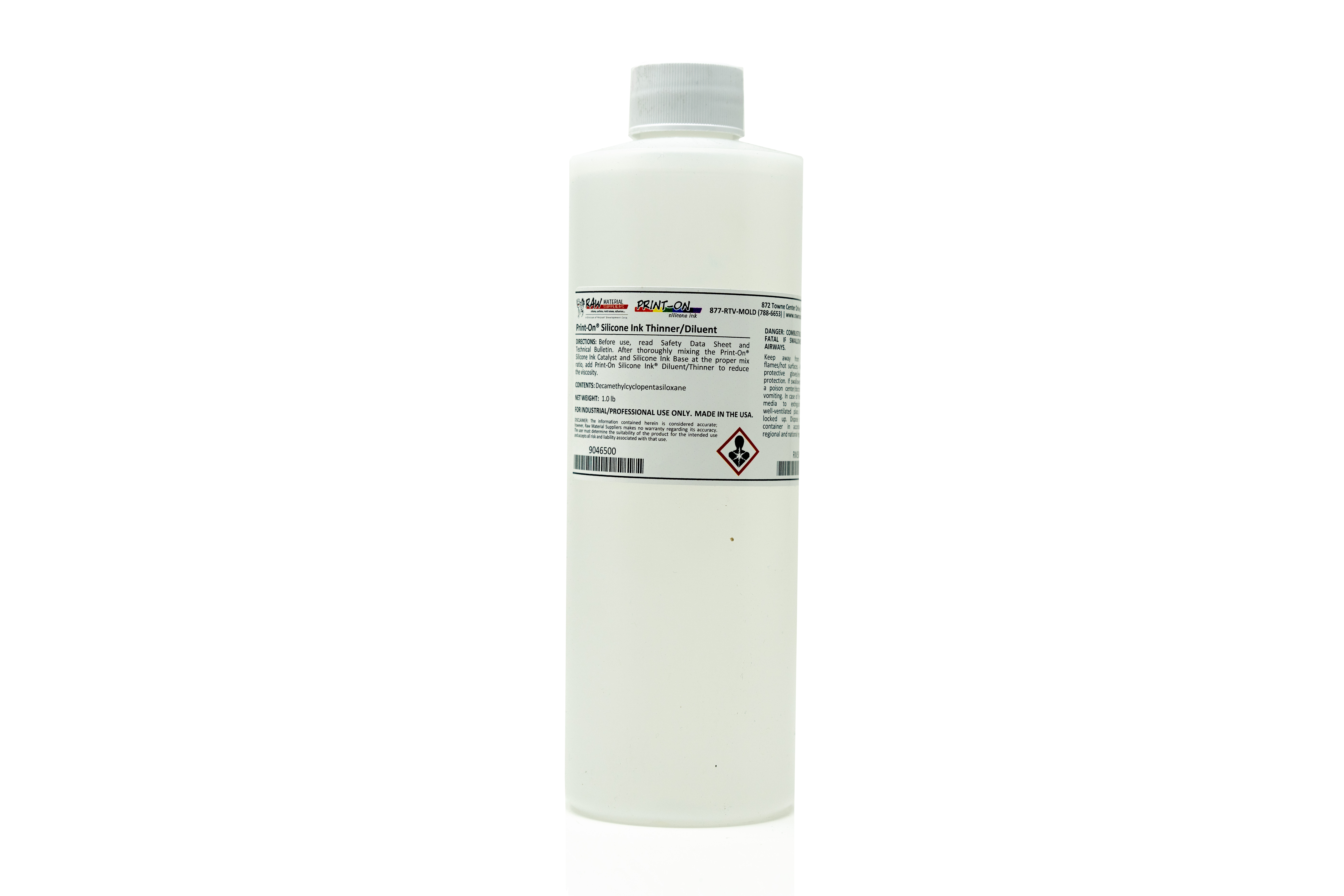 Print-On® Silicone Ink Thinner/Diluent