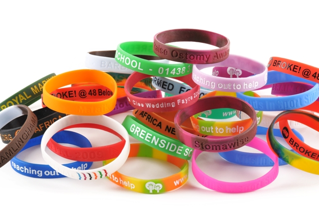 silicone ink wristbands