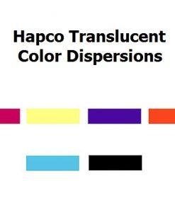 hapcotranslucent dispersions