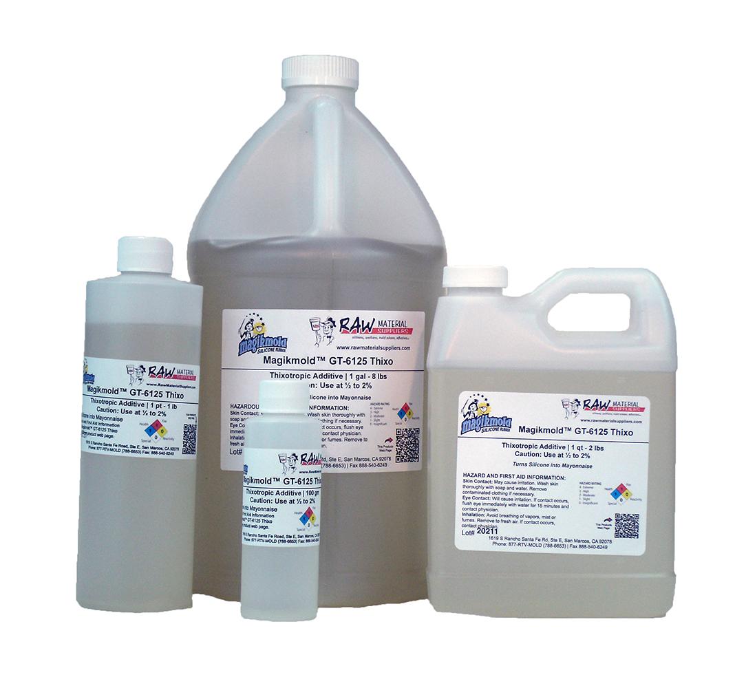 Magikmold 174 6125 Thixo Liquid Silicone Thickener Raw